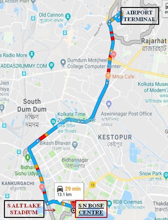 kolkata airport terminal map How To Reach kolkata airport terminal map